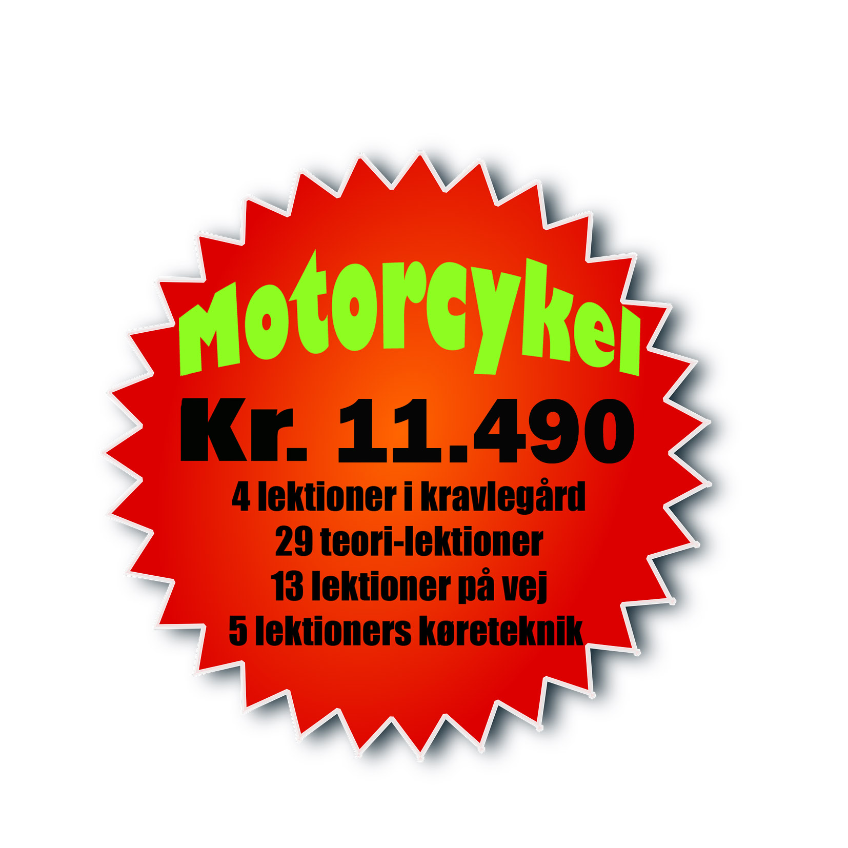 Prisskilt Motorcykel NY copy